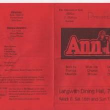 Annie 2001