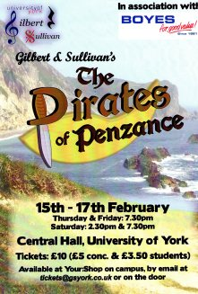 The Pirates of Penzance 2007