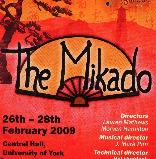 The Mikado 2009