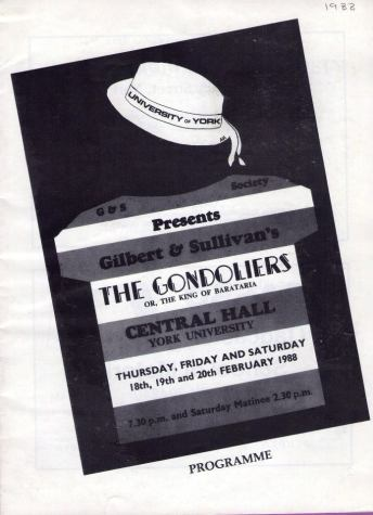 The Gondoliers 1988