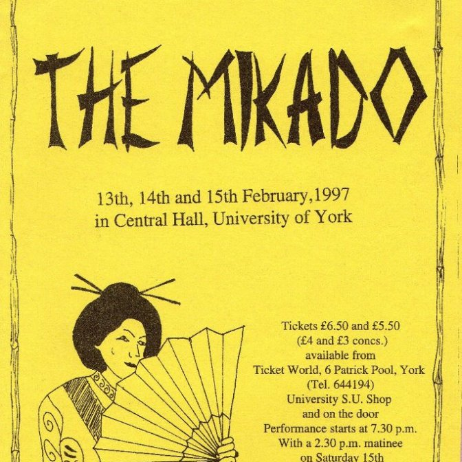 The Mikado 1997