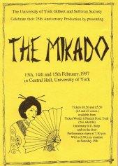 The Mikado 1997