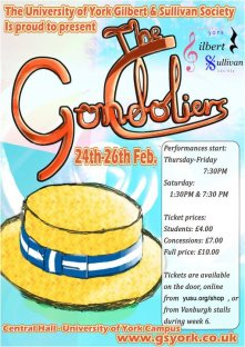 The Gondoliers 2011