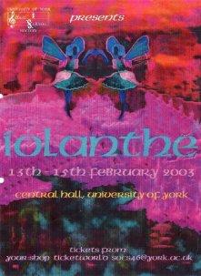 Iolanthe 2003