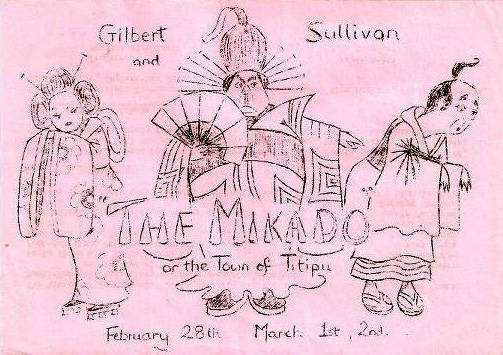 The Mikado 1974