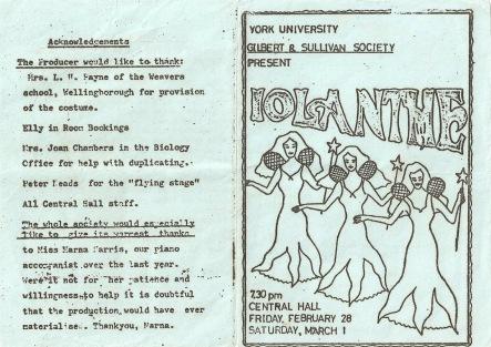Iolanthe 1975
