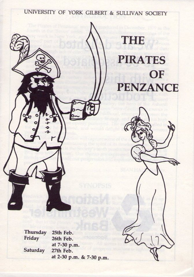 The Pirates of Penzance 1982