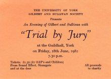 Trial By Jury 1982