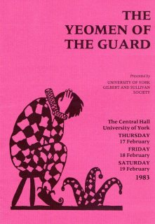 The Yeoman of the Guard 1983