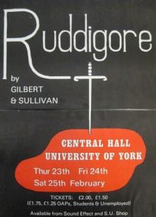 Ruddigore 1984