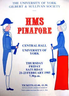 H.M.S Pinafore 1985