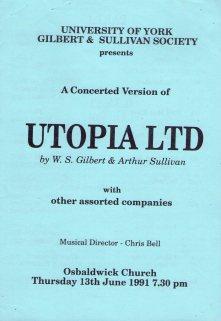 Utopia, Limited 1991