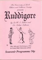 Ruddigore 1996