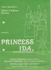 Princess Ida 1980