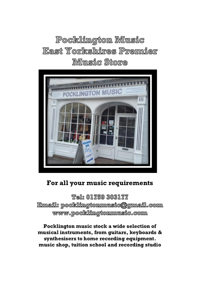 pocklington-music-advert